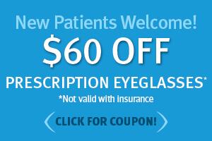 $60 OFF Eyeglasses